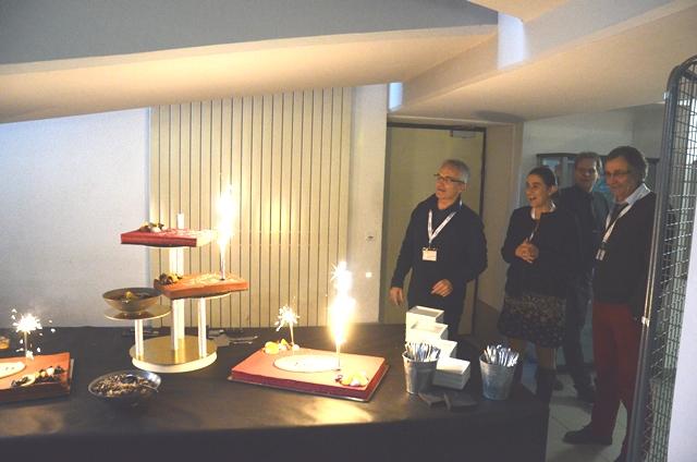 Gâteau d'anniversaire 10 ans G-SCOP