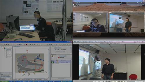 Vidéo situation de collaboration