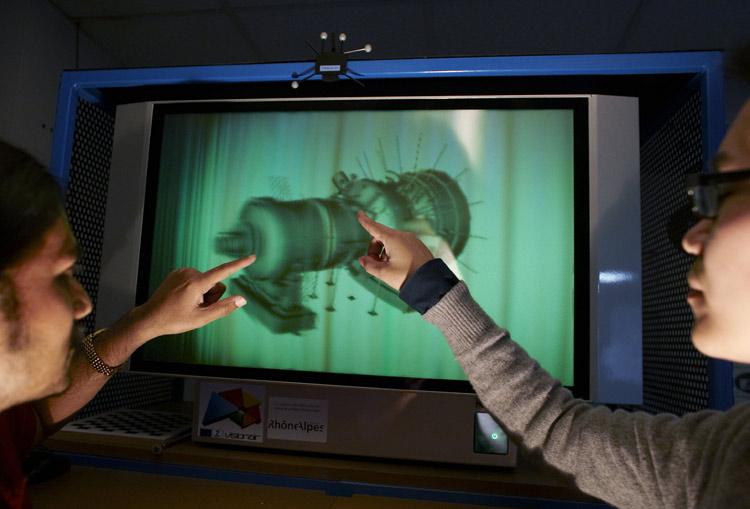 Ecran holographique